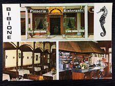 Pizzeria Bar Ristorante Toffolon Gianfranco Bibione, Venice Postcard Unused