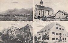 35490/63- Gruß aus Ebbs bei Kufstein Tirol mit Gasthof zur Post um 1920