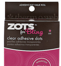 Sticky Dots Tiny (1/8 inch Diameter) Roll of 325 from Murphy's Magic