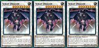 Scrap Dragon LEHD-ENB37 X 3 Mint YUGIOH Effect Synchro Monster