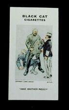 Rare Carreras Black Cat Cigarette Card - Reameaker's WW1 War Cartoons 1916 # 68