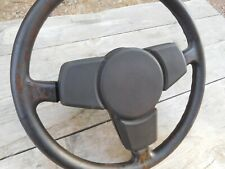 Porsche 924 Steering Wheel 1981 - 1988 Porsche 924S 944 OEM Brown 3-Spoke