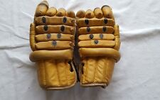 Vintage real Leather Hockey Gloves Mastercraft CTC Canadian Tire  1541