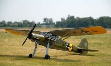 Fieseler Fi156C Storch RC Model Plane - Mantua AvioModelli Balsa Wood Kit