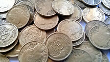 BEAU LOT DE 50 PIECES DE 50 CENTIMES MORLON DATES ALEATOIRES