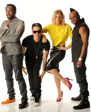 The Black Eyed Peas UNSIGNED photo -H1502- Fergie, will.i.am, Taboo & apl.de.ap