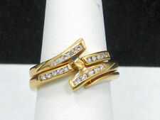 Designer 14k Yellow Gold Dimond Ring