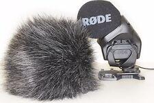 Windscreen for RODE Stereo VideoMic Pro windcut windshield  deadkitten