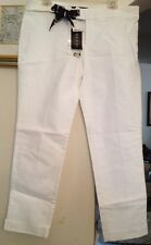 Authentic Gucci White CottonPant. Size-46.NEW. Orig.-$595.Reduced $$$