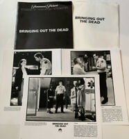 Bringing Out The Dead 1999 Press Kit/Nicolas Cage/Arquette/Paramount Pictures BC