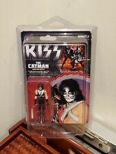 KISS - Catman, Peter Criss -BIF BANG POW! SERIES 1 ACTION FIGURE New w/ Case