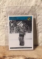 Rare PATRICK ROY 1993 CLASSIC HOCKEY CARD BLACK & WHITE MINOR LEAGUE GRADUATE 33