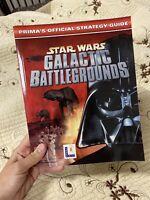 Star Wars: Galactic Battlegrounds Windows 95 LucasArts Sealed