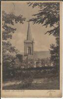 Ansichtskarte Bad Nenndorf  - Blick auf die Kirche mit Turm - Verlag Drabert