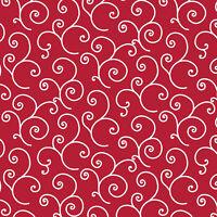 Maywood Studio Scroll Red BTY MAS8243-R fabric