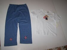 Victoria Kids Boutique Boys 2 Piece Outfit Nautical Bear Size 3 Years Nwt