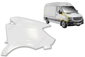 NEW MERCEDES SPRINTER FRONT WING PANEL DRIVER SIDE RH O/S 2014 - 2018 White