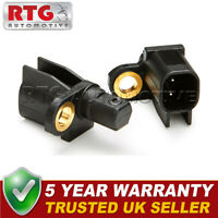 2x ABS Wheel Speed Sensors Rear Fits Ford Mondeo (Mk4) 2.2 TDCI