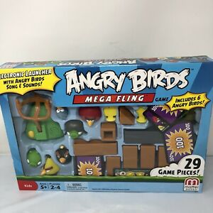 Angry Birds Mega Fling Game Complete W/ Game Manual