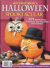 Matthew Mead Halloween magazine Tricks and treats Patterns Recipes Home decor