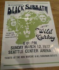 Black Sabbath 1978 Tour Poster 10 Year War Box Set Item - Limited Edition - New
