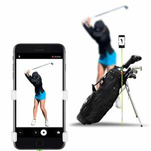 SelfieGOLF Record Golf Swing - Cell Phone Clip Holder and Training Aid - Golf