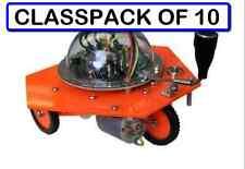 (CLASSPACK OF 10) RB-5 CARBOT RACER SOUND TOUCH SENSOR ROBOT KIT solder version