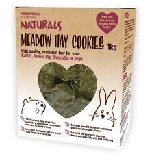 Rosewood Naturals 1kg Meadow Hay Cookies Rabbit Guinea Pigs Degus