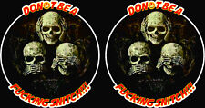 Dont be a F*cking Snitch Retro Sticker Decal Car Bike Outlaw Oldschool Rebel Rat