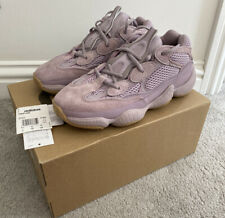 Adidas Yeezy 500 Soft Vision Lilac Trainers UK Size 6.5