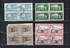 COLOMBIA  STAMPS CANCELED USED BLOCKS    LOT 22261