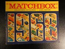 Matchbox Katalog USA - Collectors Catalog 1968