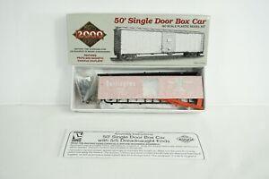 Life Like Proto 2000 HO Scale Burlington CB&Q 50' SD Box Car Item 21969 NEW V6