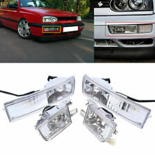 For VW Mk3 Golf Jetta 1993-98 Front Bumper Clear Fog Turn Signal Light Lamp L&R
