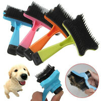 Professional Dog Cat Shedding Grooming Trimmer Hair Fur Comb Brush Rake Tool GN
