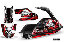 SIKSPAK Yamaha Superjet Round Nose Freestyle Jet Ski Decals Kit Wrap REBIRTH RED