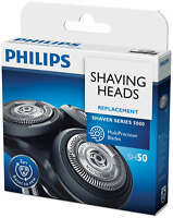 PHILIPS/PHILISHAVE SH50/HQ8 SENSONIC SHAVER HEADS/BLADEs PACK