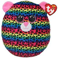 """*NEW* Ty Squish a Boo Dotty Leopard, 12.2"""" (cloud pillow)"""