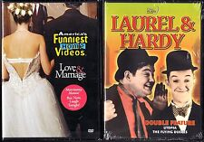 America's Funniest Home Videos - Love & Marriage & Laurel & Hardy - 2 New DVDs