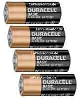 4x Batterie N Lady Duracell Alkaline 1,5V 29x12mm LR1 E90 MN9100 KN AM-5 - Bulk