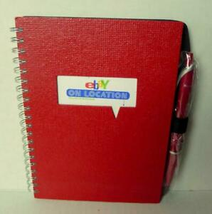 Ebay On Location Spiral Notebook SWAG Denver Colorado 2012
