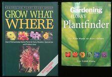 Flora's Plantfinder Gardening Australia ABC + Grow What Where Native Plants