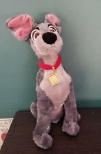 Disney Store Exclusive Lady & The Tramp Scam Puppy Dog Stuffed Animal Plush