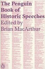 The Penguin Book of Historic Speeches, , Good Condition, Book
