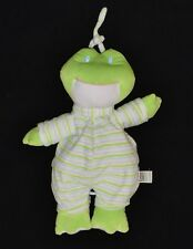 Plush Baby Ganz Green Frog Striped Crib Musical Pull Toy You Are My Sunshine
