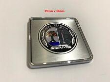 AMG Metal Badge Emblem Sticker Decal for Benz AMG A C E GLC GLA GLE CLA