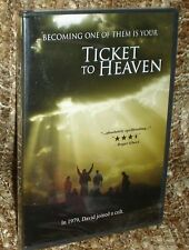 TICKET TO HEAVEN DVD, NEW AND SEALED, VERY RARE AND OUT OF PRINT, NICK MANCUSO