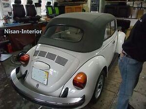 VW Käfer Cabrio 1302-1303  Cabriodach inkl.Montage Verdeck+Zwischenlage+Himmel