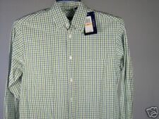 Best Izod LS Shirt Green White Heather Blue S Mens New