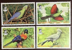 Swaziland 1995 Birds MH